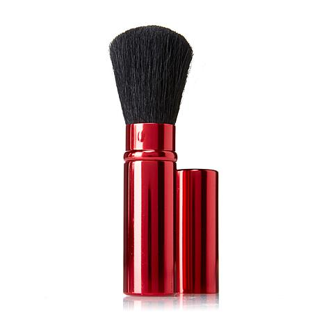 Signature Club A Red Metalized Retractable Brush