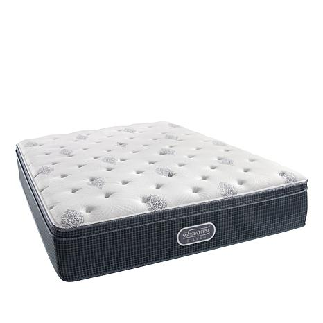 Simmons Beautyrest Silver Adda Luxury Euro Top Mattress Cal King