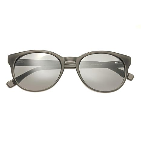 Simplify Clark Polarized Sunglasses with Grey Frame and Silver Lenses