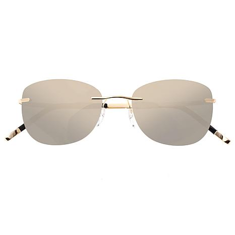 Simplify Matthias Polarized Sunglasses with Gold Frame and Lenses