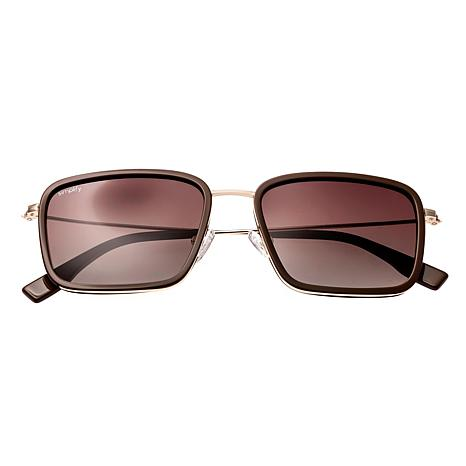 Simplify Parker Polarized Sunglasses with Gold and Black Frames