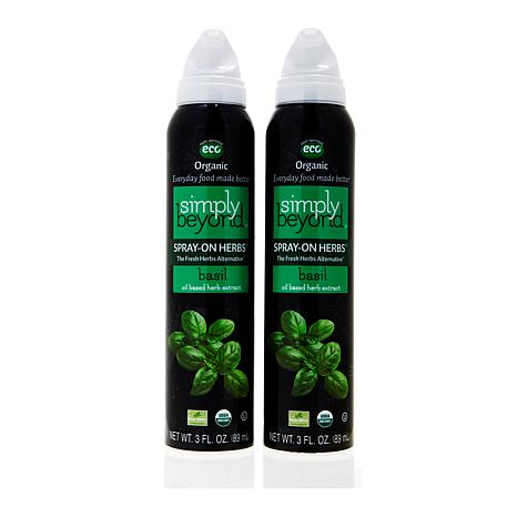 Simply Beyond Spray-On Herbs® Basil 2-pack