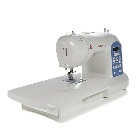 Singer Curvy Computerized Sewing Machine With Foot Package 40 New Hsn Com Singer Sewing Machines