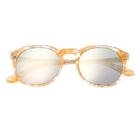 Sixty One Vieques Polarized Sunglasses with Peach Tortoise Frame