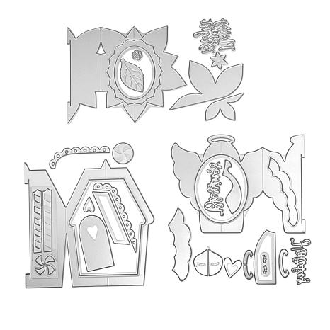 Sizzix Fold-A-Long™ Holiday Cardmaking Die Bundle