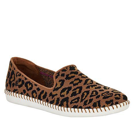 Skechers Cleo Stitch St. Tropez Leopard Slip-On Sneaker