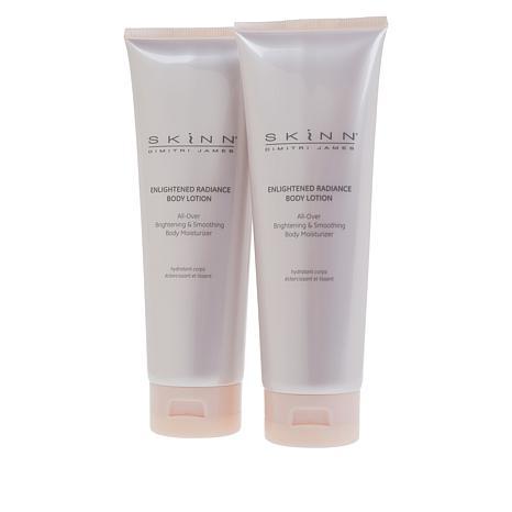 Skinn® Cosmetics 2-pack Enlightened Radiance Body Lotion