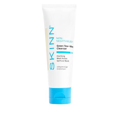 Skinn® Cosmetics Non-Negotiables Green Tea & Mint Cleanser AM