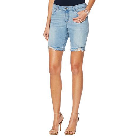 Skinnygirl Mid-Rise Long Short