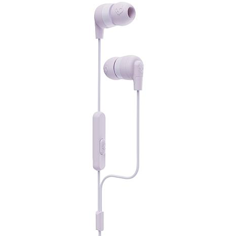 Skullcandy Ink'd+ In-Ear Earbuds with Microphone - Lavender Purple