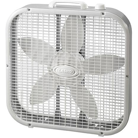 Slim 20 In. Box Fan with Save Smart