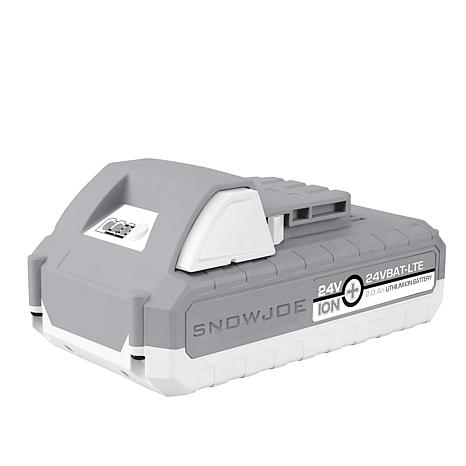 Snow Joe 24-Volt 2.0Ah EcoSharp LITE Lith-iON Battery