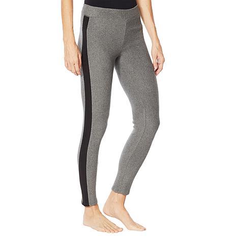 Soft & Cozy Fleece Legging with Side Stripe