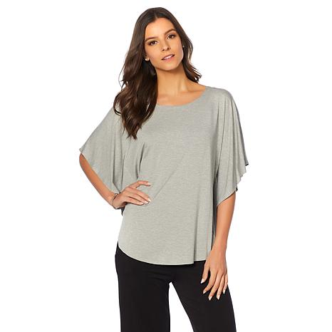 Soft & Cozy Loungewear Cool Luxe Knit Cocoon Top