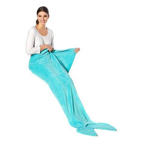 Soft and Cozy Mermaid Throw