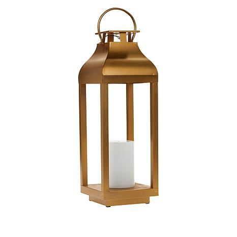 Solar Powered Flame Lantern