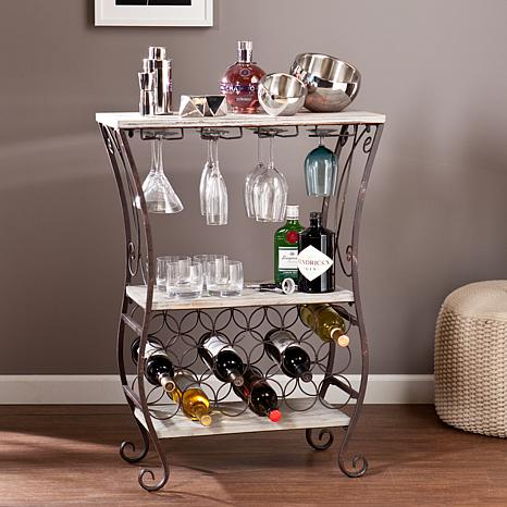 Southern Enterprises Chandler Wine Storage Table