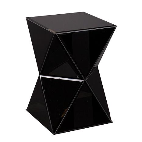 Southern Enterprises Jeannette Accent Table - Black