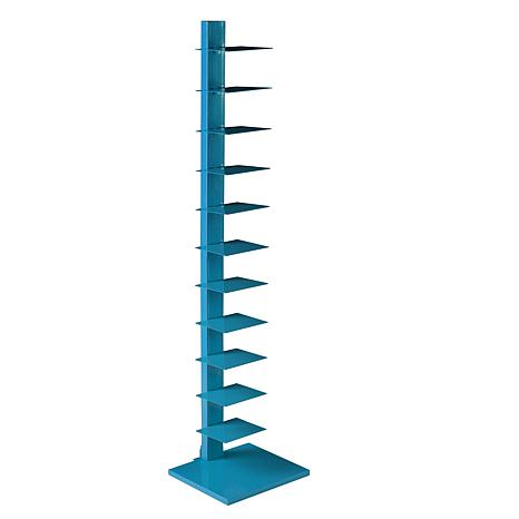 Southern Enterprises Jersey Spine Tower Shelf - Cyan