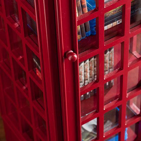 Southern Enterprises Somervell Phone Booth Storage Cabinet   8425037 | HSN