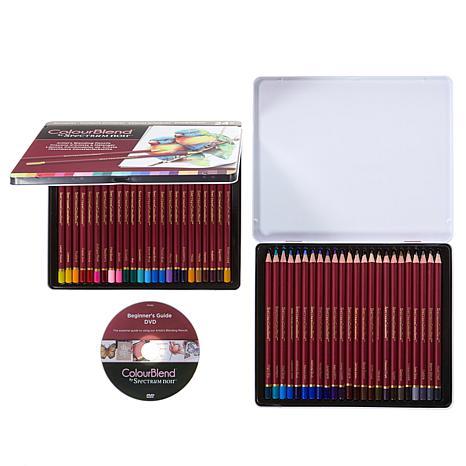 Spectrum Noir Colorblend 48pc Pencils and DVD Set