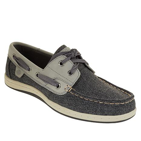 Sperry Koifish Leather Sparkle Chambray