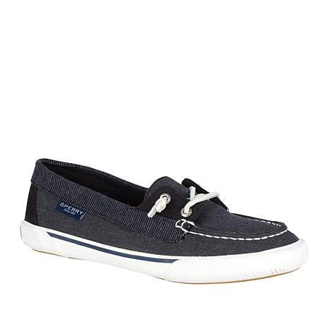 Sperry Quest Rhythm Canvas Slip-On Boat Shoe