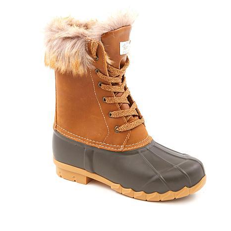 Sporto® Agnes Waterproof Laced Duck Boot