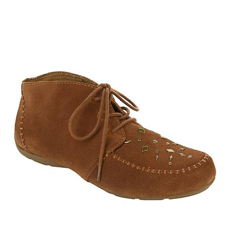 Sporto® Kendall Suede Water-Resistant Oxford Shootie