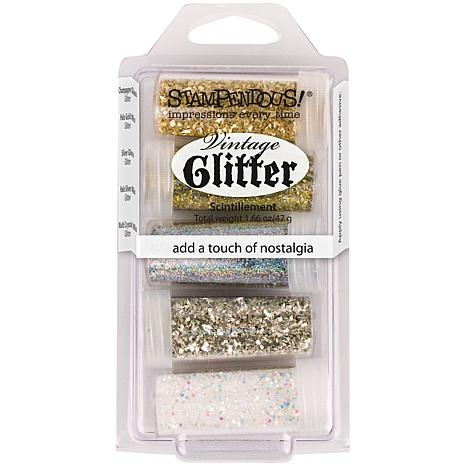 Stampendous 5-pack Treasures Frantage Glitter Kit