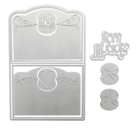 Stamps of Life Elegant Edge Die Cardmaking Kit with Idea Book