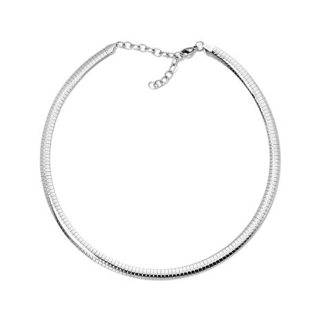 "Stately Steel 8mm 17"" Omega-Link Stainless Steel Chain"