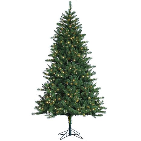 Sterling 7-1/2' Clear Lighted Hawthorne Pine Tree