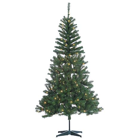 Sterling 7' Clear Lighted Cumberland Pine Tree