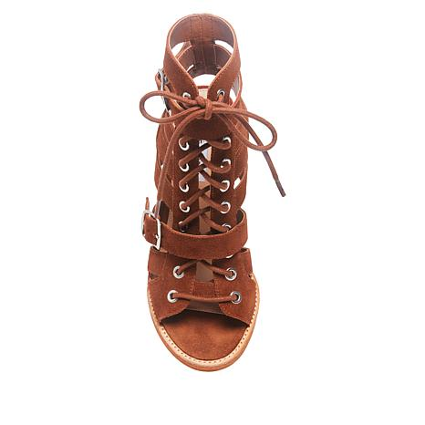Caged Madden Lace Sandal Steve Cecilia Up kn80wOP