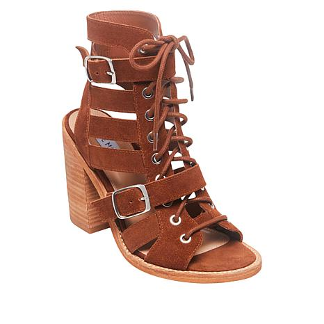 Steve Madden Cecilia Lace-Up Caged Sandal