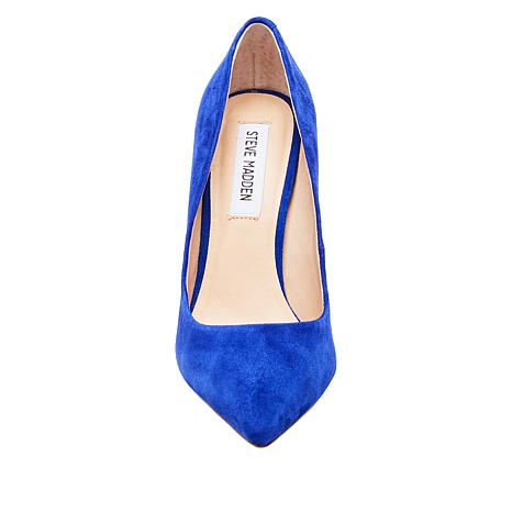 a8048a90b4f Steve Madden Daisie Suede or Fabric Pointed-Toe Pump