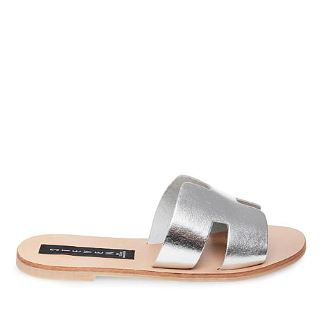 Steven by Steve Madden Greece Leather Slide Sandal