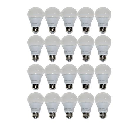 StoreSmith 20-pack A19 Dimmable LED Bulbs