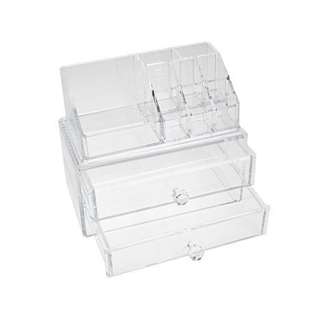 StoreSmith Acrylic Storage 2-Drawer Storage Set