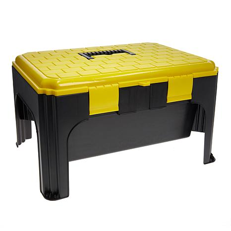 Cool Exclusive Storesmith Step Stool Tool Box Ocoug Best Dining Table And Chair Ideas Images Ocougorg