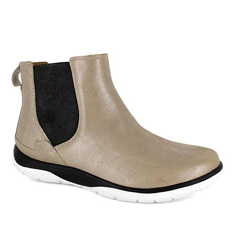 Strive Chelsea Slip-On Leather Orthotic Ankle Boot
