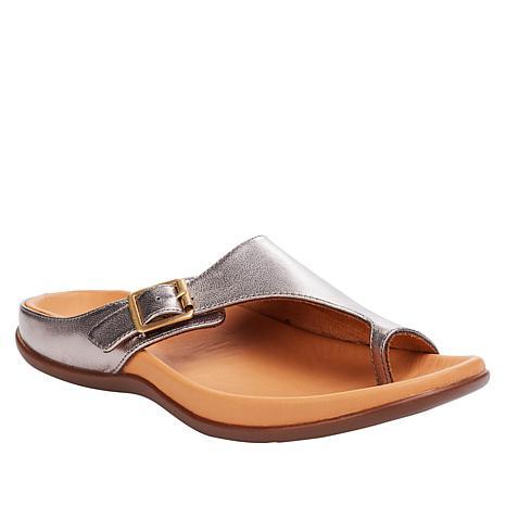 Strive Java Leather Toe-Loop Orthotic Sandal