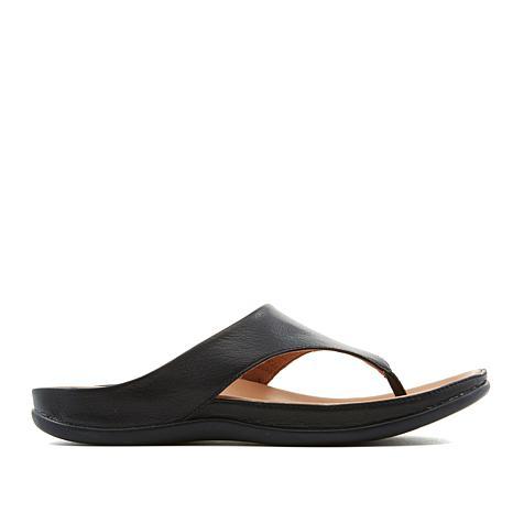 Strive Maui Classic Leather Toe Post Orthotic Sandal