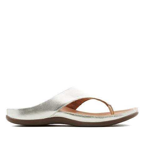 4cfbfc64b85d2a Strive Maui Classic Leather Toe Post Orthotic Sandal - 8598467