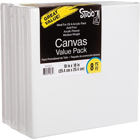 "Studio 71 Stretched Canvas 8-pack  - 10"" x 10"""