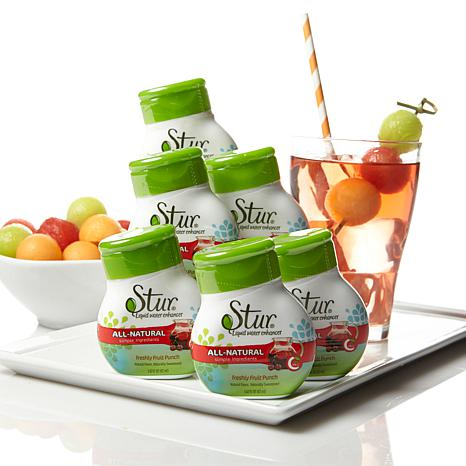 Stur All-Natural Water Enhancer 6-pack - Fruit Punch AS