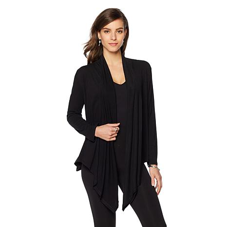 STYLE by CASS Long-Sleeve Cardigan Wrap