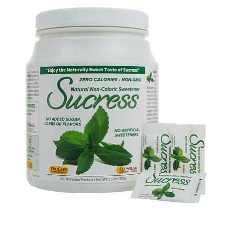 Sucress Natural Sweetener - 100 Packets