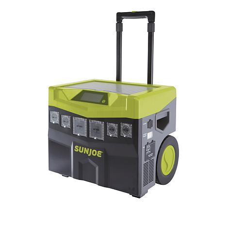 new! Sun Joe Battery-Powered Indoor/Outdoor Inverter Generator